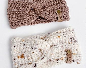 bèbè | crocheted earwarmer
