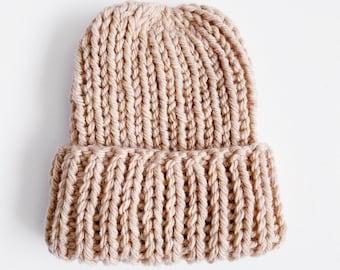 basics | ribbed knit beanie