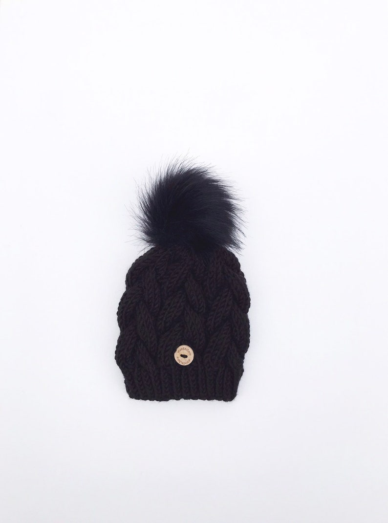 The Kryssy   Cable Knit Baby/Toddler/Youth Hat image 0
