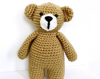 bébé |  crochet teddy bear