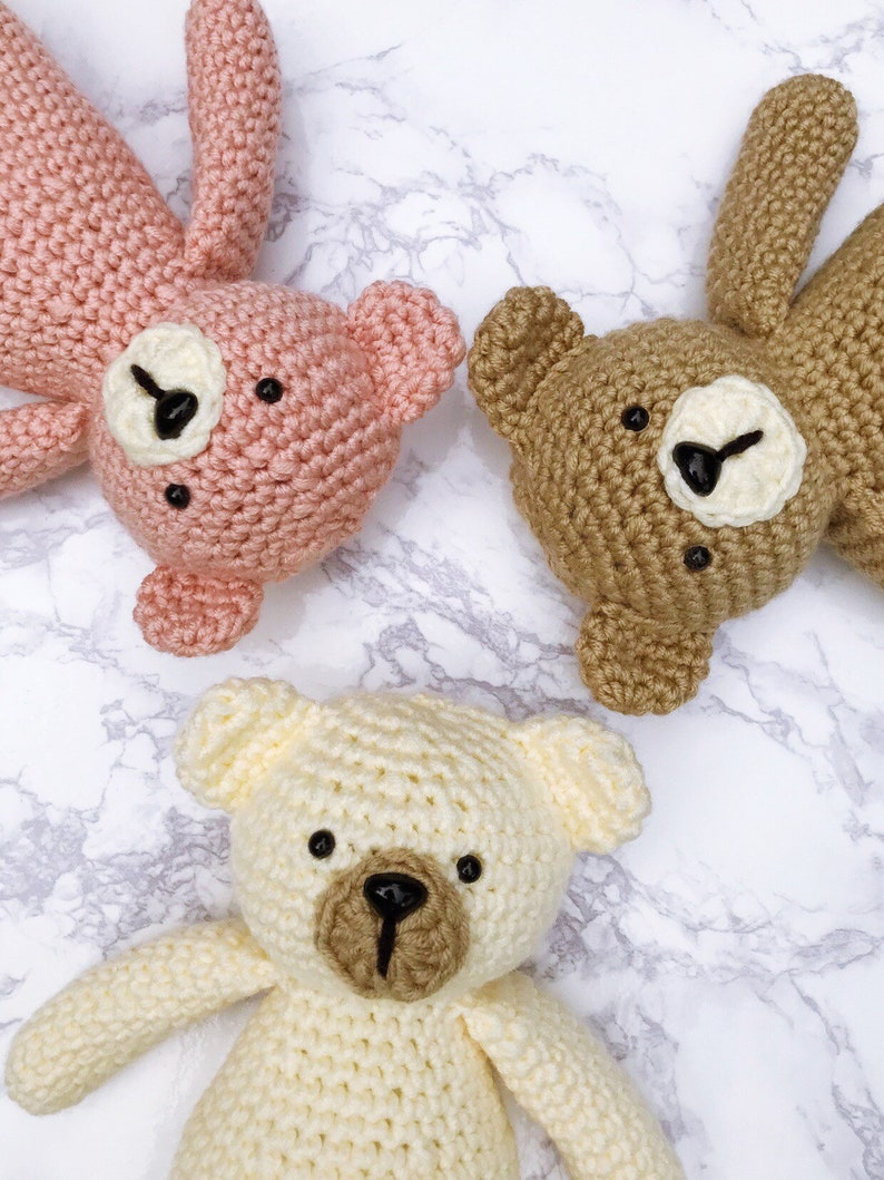 Crochet Teddy Bear image 0