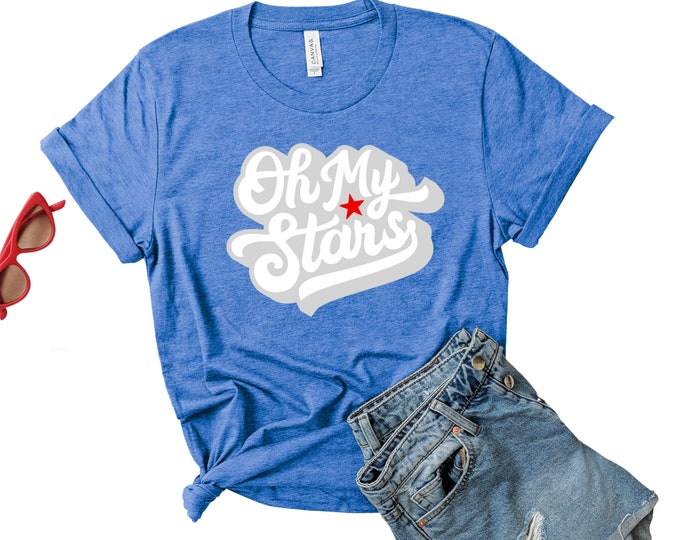 Oh My Stars || 4th of July || TShirt