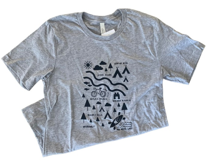 Cedar Valley Outdoors || Heather Grey || TShirt