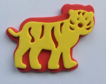 New  for Scrapbooking and Rubber Stamping Foam Stamp...Tiger