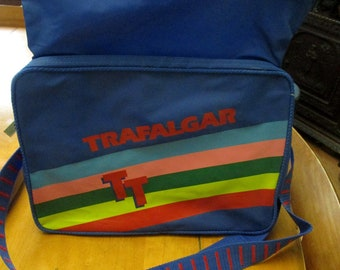 2966e3681e5819 1970s Carry On Bag, Vintage Luggage, Carry On Bags, Luggage, Trafalgar, Vintage  Trafalgar, Carry On Bag, Vintage Bags, Rainbow Bag