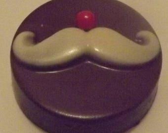 Santa's Mustache Christmas Chocolate Covered Oreo