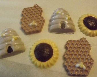 Bumble Bee-Bee Hive-Sunflower Chocolate Candy
