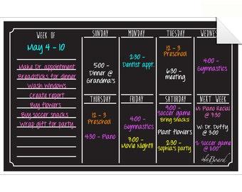 Calendar Organizer Etsy