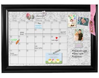 Blank Dry Erase Calendar, Blank Monthly Calendar