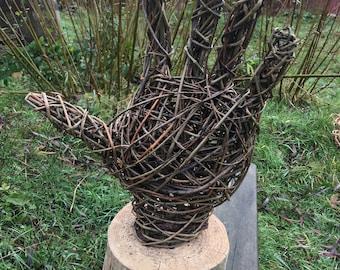 Willow Hand Sculpture