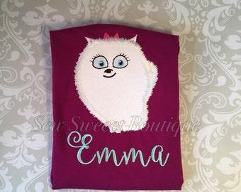 The secret life of pets Gidget shirt, personalized