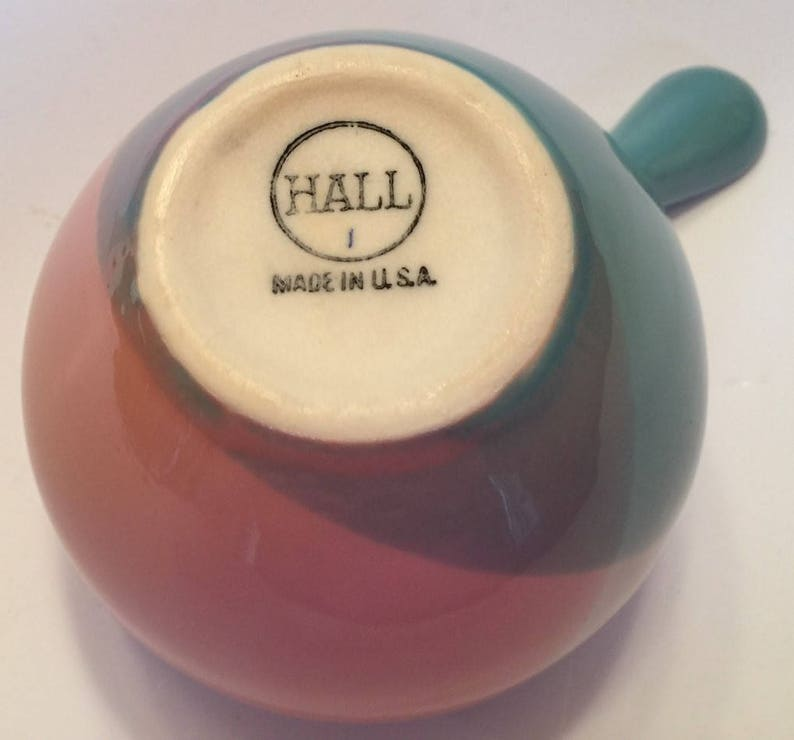 EXCELLENT CONDITION Marked 17-175 Eva Zeisel RARE Tri-Tone Creamer