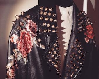 beba2d240 Rock and roll jacket | Etsy