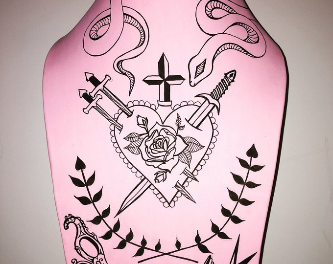 Sacred Heart Chest Piece