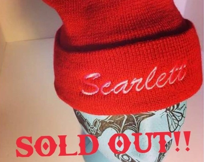 SOLD OUT* Scarlett Touque - Red