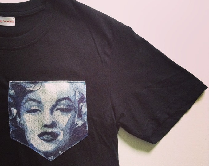 Icon T-Shirt. Marilyn Monroe Pocket