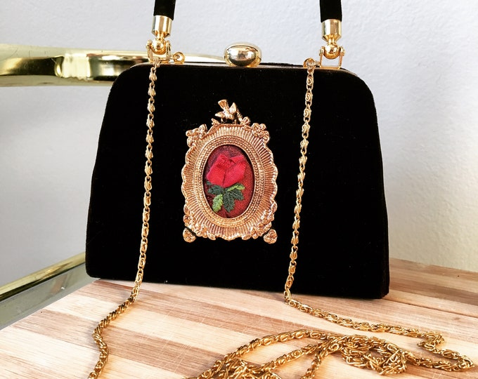 SOLD OUT Antique Rose Purse