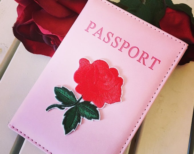 Pink Passport Case limited edition