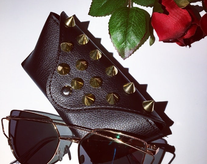 SOLD OUT Studded Glasses Case