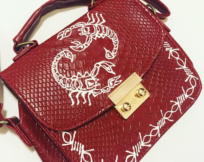 SOLD Scorpion Shoulder Bag