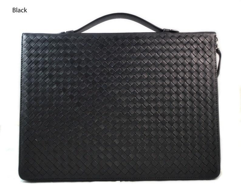 f4aee4798 Maletin en piel genuina italiana cartera bolso cartera de | Etsy