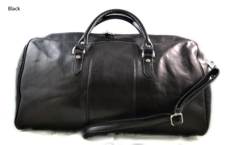 680e03c86f Duffle bag genuine leather shoulder bag black brown mens