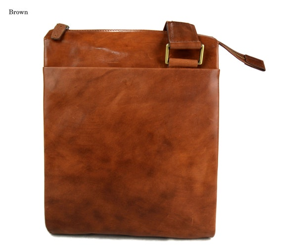 Tablet leather bag brown shoulder bag satchel mens tablet ipad leather bag  ipad tablet bag dark brown luxury bag crossbody hobo bag 20d1e9dcafda1