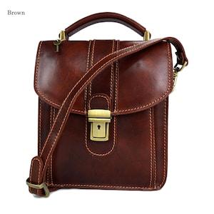 824cefc72a9a Leather crossbody satchel genuine leather bag shoulder bag brown hobo bag  leather messenger leather crossbody mens shoulderbag