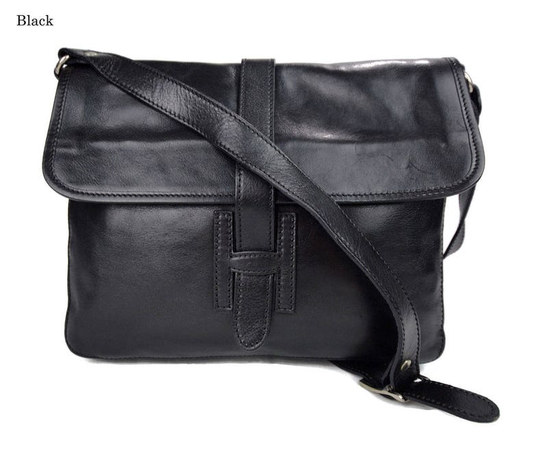 Leather hobo bag mens satchel messenger bag shoulder bag  2bf131a8f074b