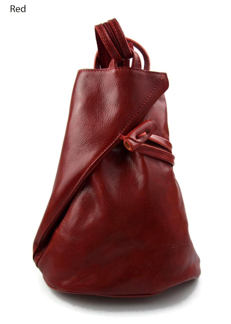 189e8869d9f0 Luxury leather backpack travel bag weekender sports bag gym