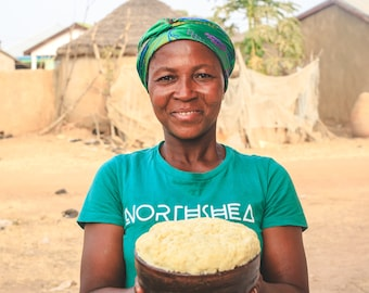 Raw Unrefined Shea Butter For Skin and Hair, Raw Shea Butter, Shea Butter, Shea Butter Raw, Deep Moisturizer, Fair Trade and Vegan