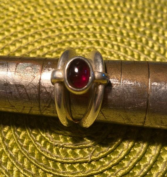 Garnet Ring.