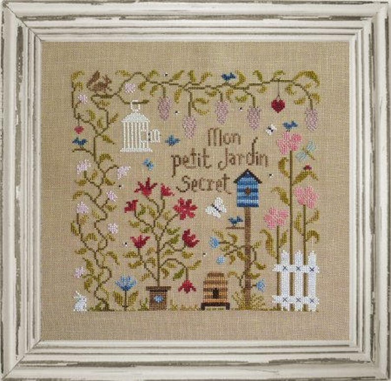 My Sweet Secret Garden  French counted cross stitch chart to image 0