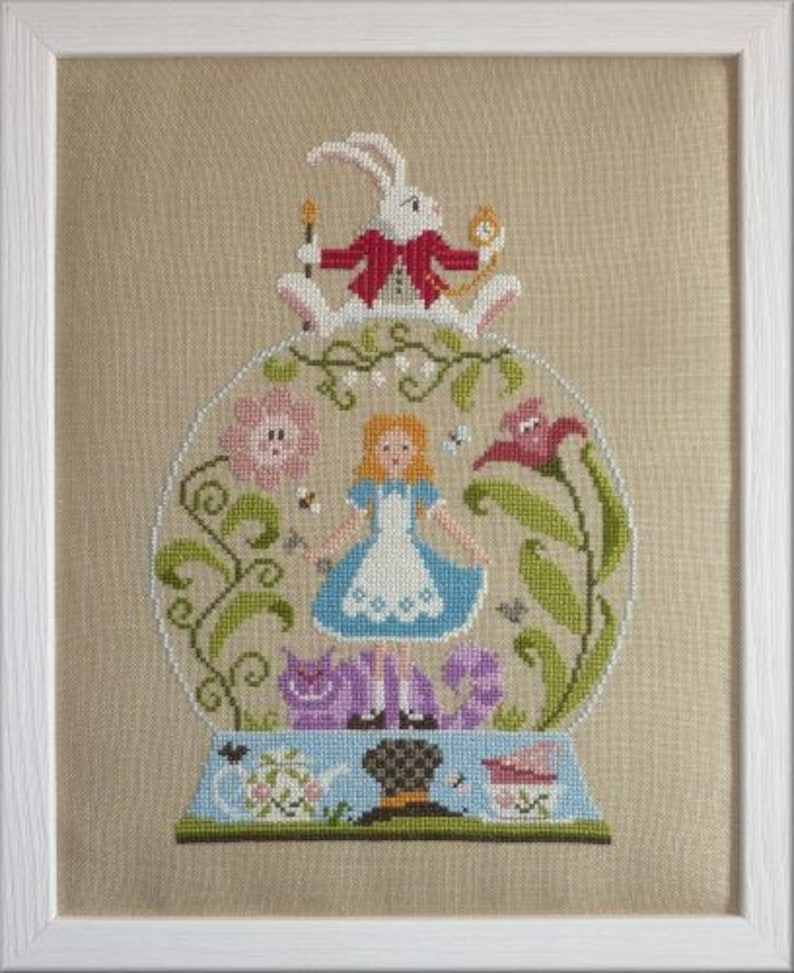 Alice in Wonderland  counted cross stitch chart to work in 20 image 0