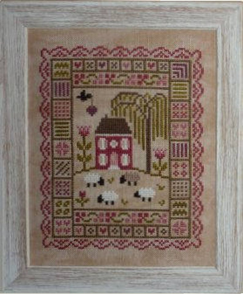 Moment of Calm  counted cross stitch chart to work in 11 image 0