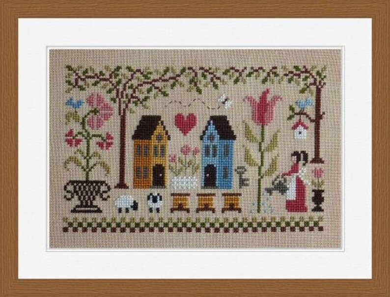 Beautiful Days  counted cross stitch chart to work in 14 image 0