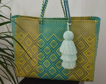 Beach Bag, Shoulder Bag, Recycled Plastic Tote