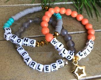Wild Child Bracelet Set