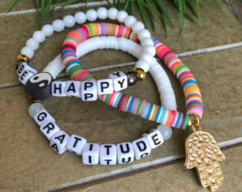 Gratitude Bracelet Set