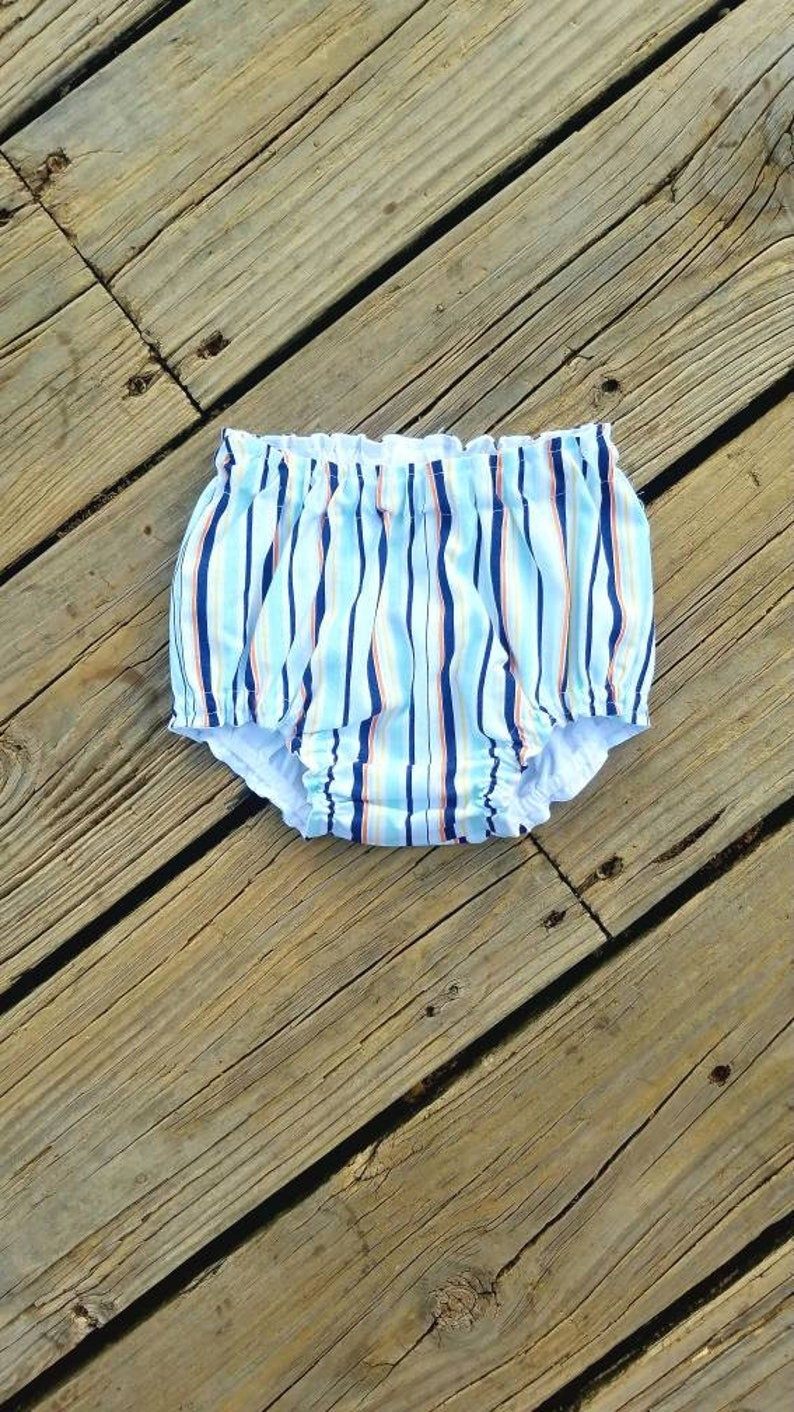 Handmade Star Print Baby Bloomers Bloomer Nappy Cover