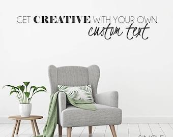 Custom Home Decor Etsy