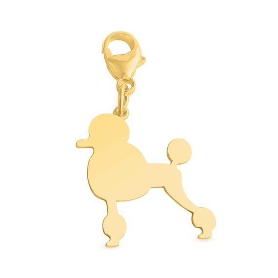 Azaggi Sterling Silver Handcrafted Dog Lover Daschund Silhoutte Pendant With Lobster Clasp P0382S/_pc