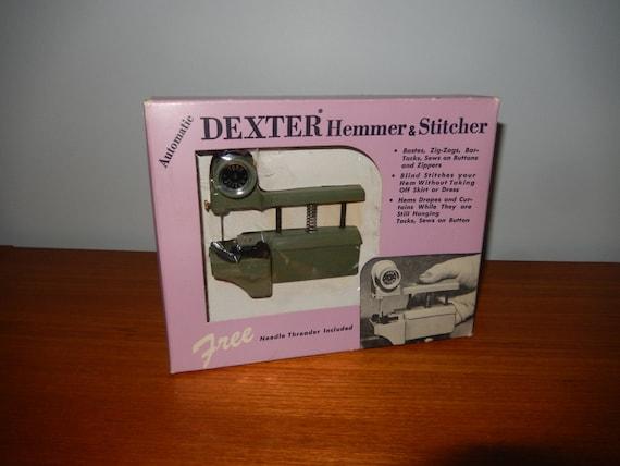 Items Similar To Vintage Dexter Hemmer Stitcher Handheld Sewing Fascinating Dexter Hand Held Sewing Machine