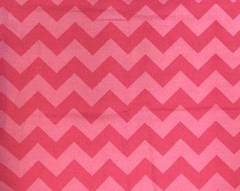 Pink Chevron Fabric
