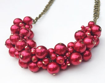 red hot necklace