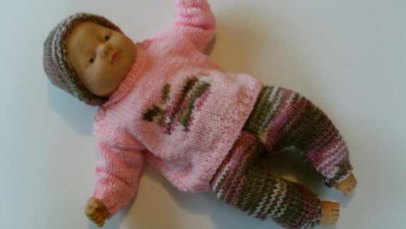New Knitting Pattern Adorable Hand Knit Sweater With Etsy