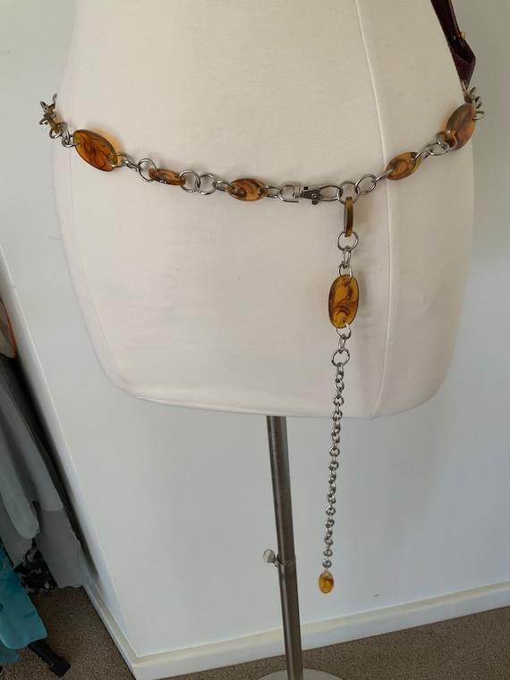 Swinging Sixties Chain Belt