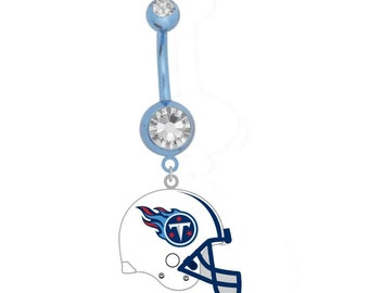 6e4fe09370a Tennessee Titans Helmet Belly Ring