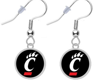Final Touch Gifts Houston Texans Earrings
