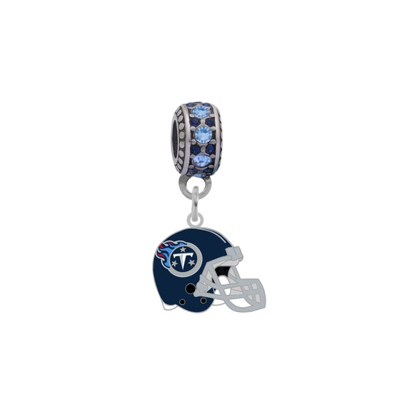 Final Touch Gifts Tennessee Titans Logo Charm Fits European Style Large Hole Bead Bracelets